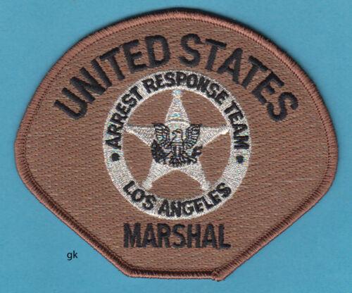 LOS ANGELES CA MARSHAL ARREST RESPONSE TEAM POLICE SHOULDER  PATCH