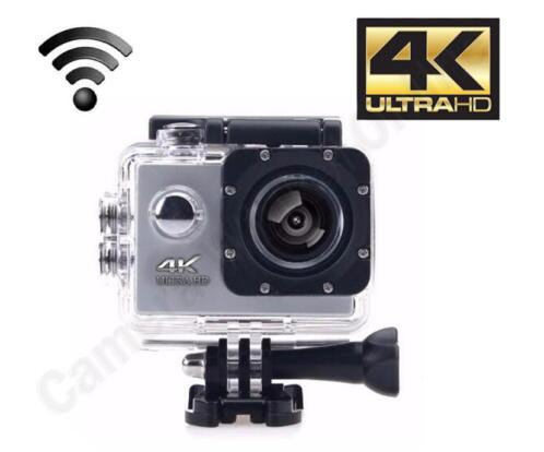 4k Ultra HD sports action camera met lcd scherm en Wifi 1