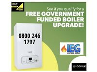Free government boiler replacement grants