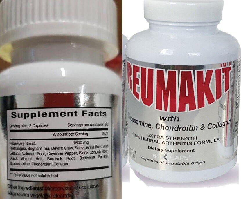 2 Reumakit artritis pain relief DOLOR REUMATOL alivio del dolor flex artritis  3
