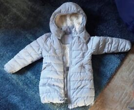 winter coat from Next. Age 5