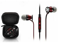 New Sennheiser M2IEi Momentum In Ear Headphones for ios iPhone iPad Apple