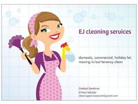 EJ cleaning services