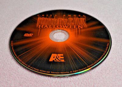 E Halloween Special (Chris Angel Mind Freak Halloween Special DVD No Case A&E Gothic Magician MAGIC)