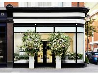 * ARABIC SPEAKER * Retail Sales & Beauty Assistant in Boutique Knightsbridge