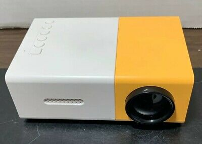 Meer Mini Projector, YG300 Portable Full Color LED LCD Video Projector