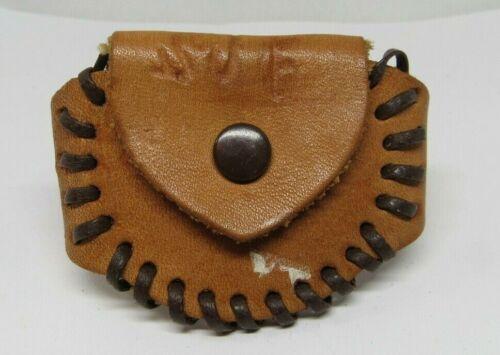 Vintage Leather Change/Coil Bracelet  child Children Size with Snap