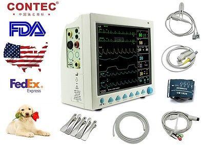Vet Veterinary Pet Patient Monitor Multiparameter Icu Machine Big Screensale