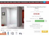 Shower Cabin + shower Tray + shower system