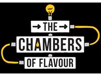 2 tickets to Chambers of Flavour V3 28th March @ 8pm.