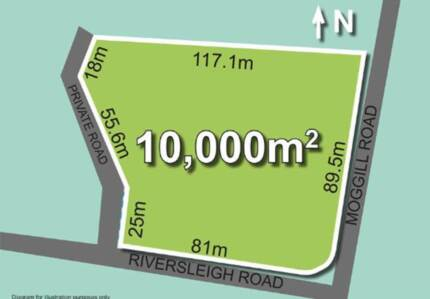Bellbowrie QLD 2.5 acres Vacant Block