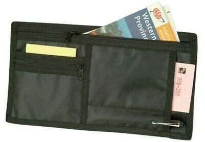 Auto Car Visors Organizer for Registration Insurance Parking Stub Zipper Pockets