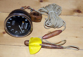 WASP Type S10 Trailer log / Trailing log, speedometer, for yacht navigation, yachts