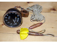WASP Type S10 Trailer log / Trailing log, speedometer, for yacht navigation, yachts, yachting, GC