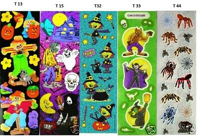 Halloween-scrapbook (Sandylion Vintage VeRy RaRe Halloween Scrapbook Stickers. Choose your Design. )