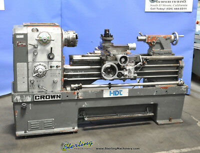 1826 X 42 Used Ta Shing Crown Removable Gap Bed Engine Lathe 21000 A3070