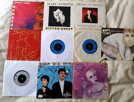 """""""Soft Cell/Marc Almond"""" Joblot 7"""" Singles x 10 Not Tested (All Listed)"""