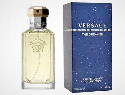 Versace The Dreamer For Him Eau De Toilette 100ml Spray Men Fragrance