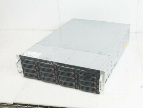 "Supermicro CSE-836 Server Chassis w/ 16x 3.5"" Caddy SAS836TQ Backplane"