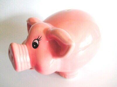 Rosa Piggy Hucha XL Hucha 24cm Dinero Del Banco Nuevo