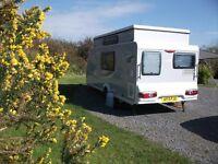 Trigano Silver 420DD touring caravan