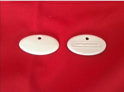 29 Ivory Longaberger Herb Markers 1 & 7/8 x 1 inch