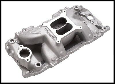 Edelbrock 7501 RPM Air Gap Intake Manifold For SBC Chevy # 7501