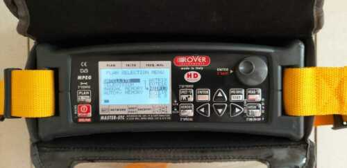 Rover Master STC (DVB-S/T/C) CABLE DVB-T SAT PROFESSIONAL COMBO METER