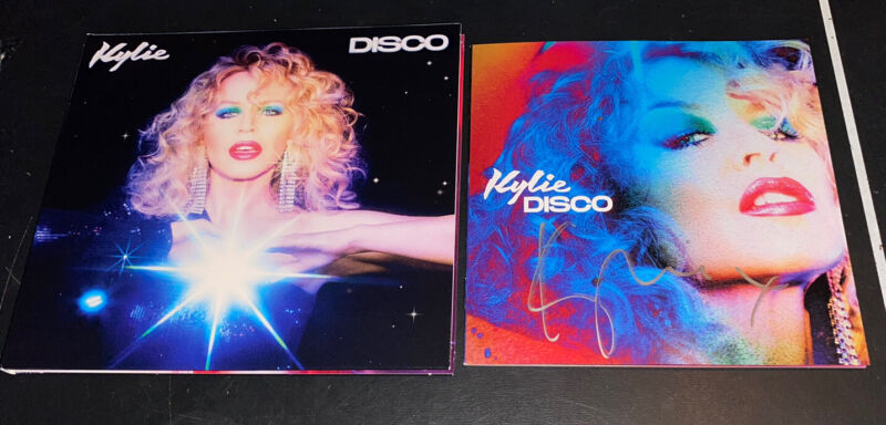 Kylie Minogue Signed CD Disco In Hand Ready To Ship