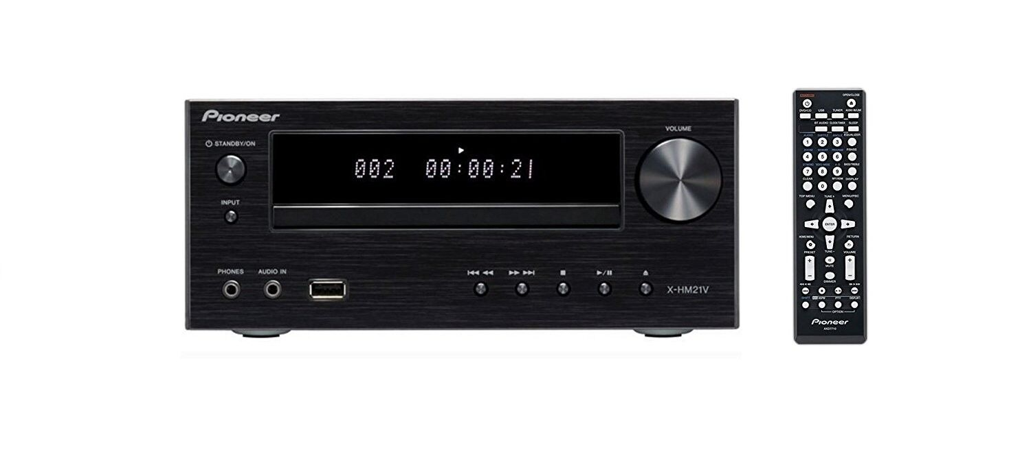 Pioneer XC-HM21V-K Home Theater Audio Receiver Amp DVD CD Ra