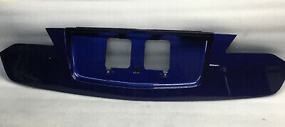 2015-2016-2017 Acura Ilx Trunk Lid Decklid Finish Panel License Plate Trim