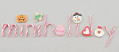 Miniholiday Dollhouse Miniatures