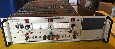 Kepco Bipolar Operational Power Supplyamplifier Bop 100-1m 100v1a. Ms 03-1 Y