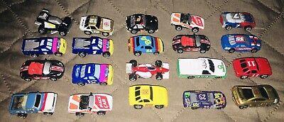 Vintage Lot of 20 Racing Micro Machines Vehicles & Cars - Galoob / Hot Wheels