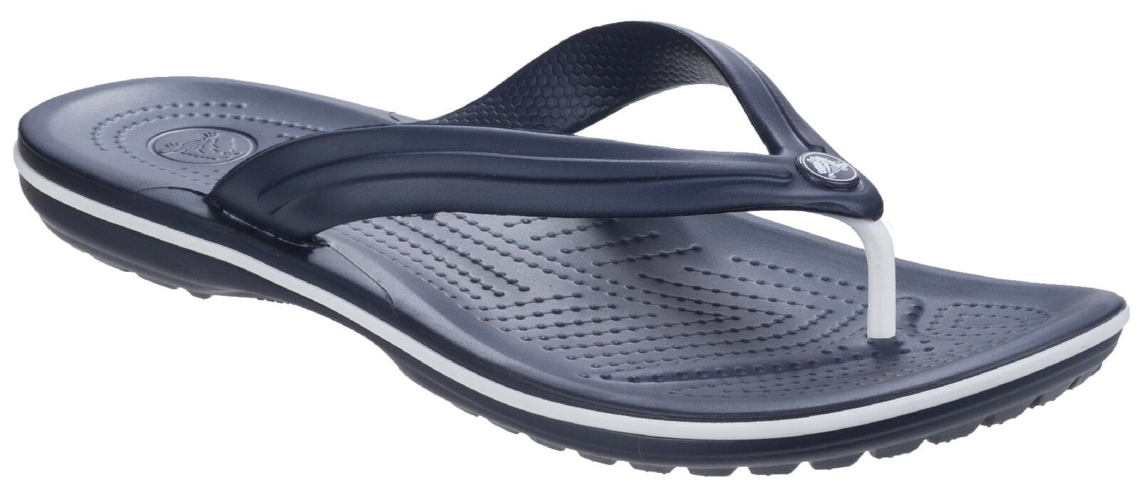 3e2788cd568b Crocs Crocband Flip Flops Sandals Unisex Lightweight Toe Post Mens Womens  Slides
