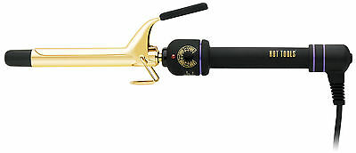 Hot Tools Professional Spring Hair Curling Iron 3/4 1101 Gold MultiHeat Control