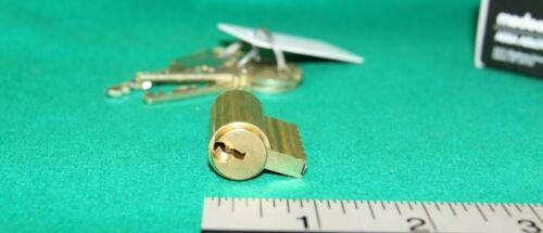 Medeco Assa Abloy KIK cylinder w/ 3 keys incl. control key - New