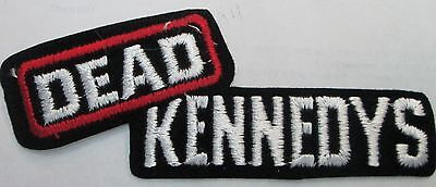 DEAD KENNEDYS COLLECTABLE RARE VINTAGE PATCH EMBROIDED 90'S METAL LIVE