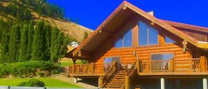 Sept. 25- Oct. 6 Penticton  Log Vacation Rental Home