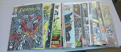 Deathlok comics lot 1 2 4-24 annual marvel agents of shield tv show S.H.I.E.L.D.