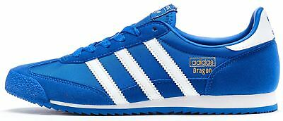 Adidas Originals Dragon GS Retro Trainers in Royal Blue & White BB2486