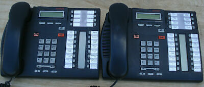 Lot Of 10 Avaya Branded Nortel Networks T7316e Lcd Phone Charcoal Free Shipping
