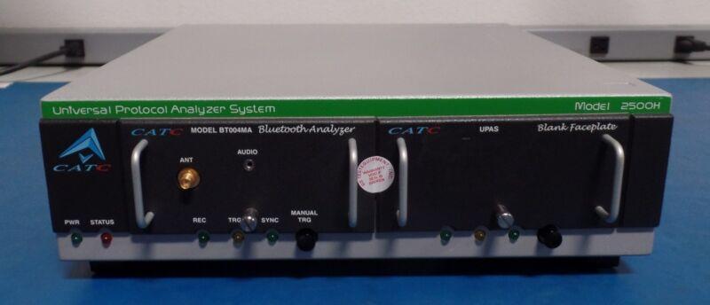 CATC 2500H Universal Protocol Analyzer System with BT004MA Bluetooth Plug-in