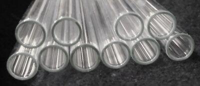 9mm O.d. Pyrex Borosilicate Glassblowing Tubes - 9mm X 8 - 10 Pcs.