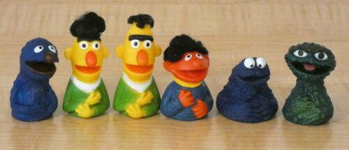 Lot of 6 Sesame Street Finger Puppets