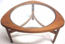 SOLD Retro NATHAN Teak Atomic Table 1960s Erco G-Plan Danish era