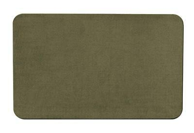 Skid-resistant Carpet Area Rug Floor Mat - Olive Green - 8'