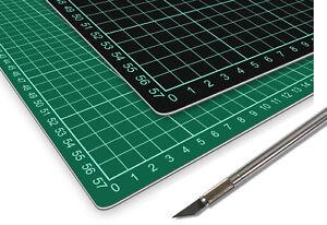 Schneidematte Schneidmatte 60 x 90 cm selbstheilend, grün/schwarz Profiqualität