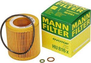 Mann-Filter HU816 X Oil Filter BMW Filter n54 n52 n20 n55