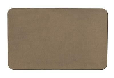 Skid-resistant Carpet Area Rug Floor Mat - Camel Tan - 4' X